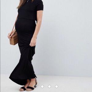 ASOS Maternity Nursing Maxi Dress